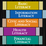 PA Forward Logo of Five Literacies