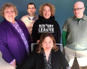 ILEAD USA 2015 ALT team members: Joanne Austin (left), Rick Miller, Elaine Stefanko, and Ed Lupico. Seated is Bonnie Powers.