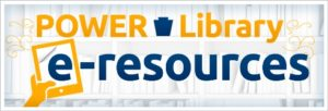 POWER Library e-resource logo