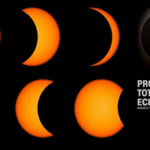 progress of solar eclipse