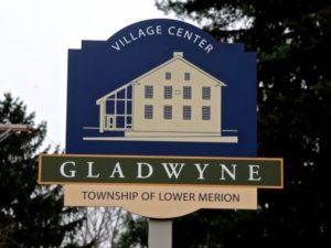 Gladwyne Free Library sign