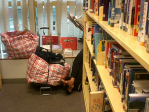 bags in library