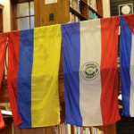 Flag Display: Thank You to Latino Unidos