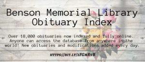 Obituary Index