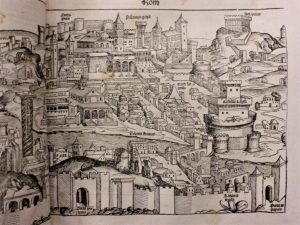 woodcut-illustration-of-Rome