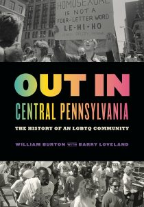 This is the cover of the book Out in Central Pennsylvania